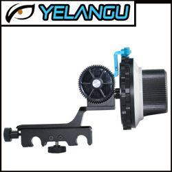 Blok van de Dia van de Groef van de Versie van Yelangu volgt het Snelle voor de Installatie van de Staaf van 15mm Nadruk DSLR