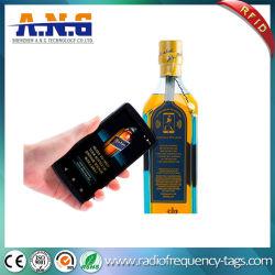 De beschikbare Vrije Programmering NFC etiketteert Permanente Kleefstof voor Fles