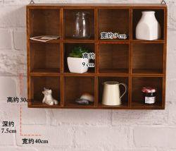 Hogar creativo estantes de pared Caja de almacenamiento, estantería