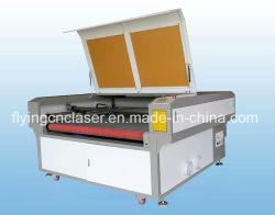 De Snijder van de Laser van de Kledingstukken van de Stof van het Leer van de doek met Auto het Voeden Systeem