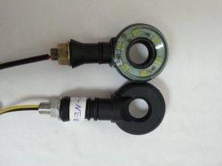 Accessori ambrati del motociclo LED della bici LED della via dell'indicatore del bicromato di potassio