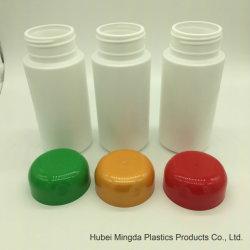 Colores Personalizados HDPE Recipiente de Plástico de Agua de 300cc 300ml Botella de PET de PE Pastilla Frasco con Cierre Hermético.