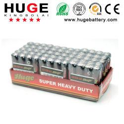 Batterie der trockenen Zelle des Energie 1.5V AAA-Größenkohlenstoffzinks für Fernsteuerungs (AAA R03 UM-4)