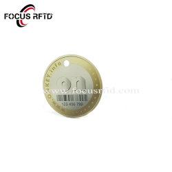 حافظة الأمان RFID UHF مخصص الشكل RFID بطاقة العمل Epoxy تعليم علامة مفتاح NFC