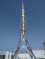 조경 장식적인 탑