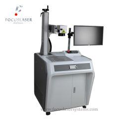 Fibra Focuslaser marcadora láser en blanco y negro de la impresora láser Láser máquina copiadora de metal