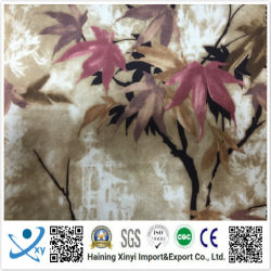 Design de moda têxtil Haining Flor Tecido de Impressão Digital 100%Forro de poliéster