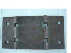 Hombro placas de anclaje para P50 en la fundición de hierro