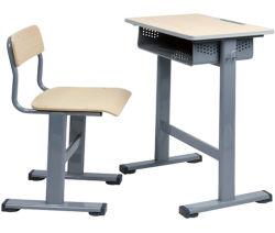 Nouvelle étude de l'école en bois d'arrivée étudiant Bureau et chaise pour l'école primaire
