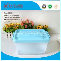 Рр материал изделий из пластмасс 17-95L пластиковая коробка для хранения продовольствия контейнер упаковке с колеса