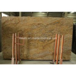 Caxemira Gold Fachada-Granito e pisos de pedra azulejos
