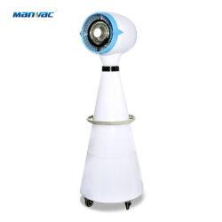 En el exterior comercial grande de alta velocidad del ventilador enfriador de aire de vapor de agua