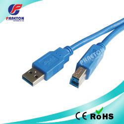 Een Male-B Male USB 3.0-printerkabel