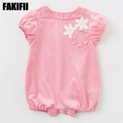 Qualitäts-Großhandelskind-Abnützung-Kinder, die Sommer-Baumwollsäuglingsspielanzug-Form-Baby-Kleid kleiden