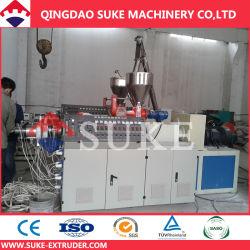 Из ПВХ трубы машины завод экструдера Ce сертификации