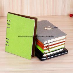 Het Notitieboekje van het Dagboek van de Dekking van het Leer van Pu
