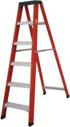 ゴム足のための 5 ステップの最終的な梯子