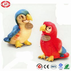 Los colores Super Soft peluches y juguetes de peluche lindo Parrot Bird