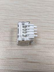Solder Type SMT dip 90 درجة الإناث ذكر موصل لوحة الدائرة الإلكترونية USB الصغير