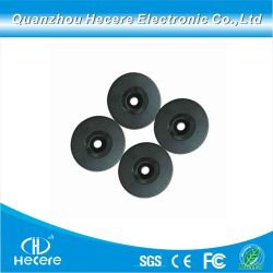 Hochleistungs-wasserdichte PVC-RFID-Coin Tag/Kunststoff H3 RFID ABS Datenträgertoken-Tag