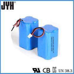 14650 au lithium-ion 2200mAh 7.4V 2s2p Pack de batterie pour caméscope