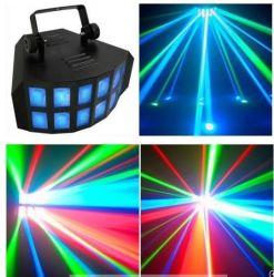 Fase mágico duplo efeito de LED Light Nova banheira de DJ Discoteca partido dirigido à luz do laser
