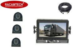 De 7 pulgadas de 3 canales Vista trasera/inversión/Copia de seguridad Monitor con la cámara de coche/bus/remolque/camión