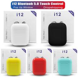 V5.0 de Draadloze MiniOortelefoon van BT Earbuds I12 Tws voor de Mobiele Uitstekende kwaliteit van Versie van de Hoofdtelefoon van de Telefoon 5.0