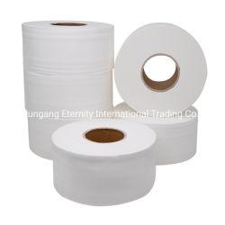 Usine chinoise Virgin / Recyclé Papier toilette Jumbo gaufré Rouleau de papier