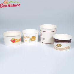 Sun характера печати красочных чашу бумаги мороженое упаковочного материала