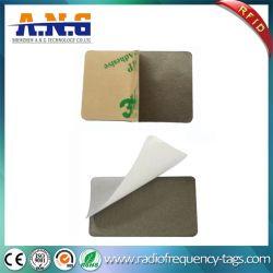Super delgada Anti-Metal NFC Sticker adhesivo de RFID para teléfono móvil/portátil/superficie de metal