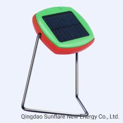 5 anos de vida útil Portable Energia Solar Luz LED Lamp Lantern Ce/RoHS aprovado com pega