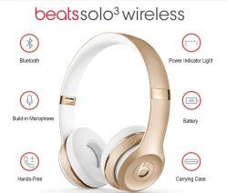 Kopfhörer Solo3 Bluetooth Kopfhörer für Studio-Radioapparat des Schlag-Solo3