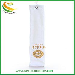 Настраиваемые дешевые хлопок/поле для гольфа из микроволокна полотенце с крюка