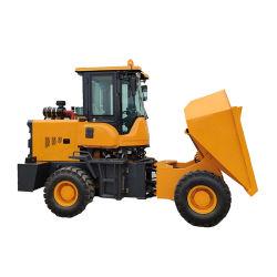 Il nuovo trattore della miniera di disegno ha spinto il veicolo di trasporto a ruote dell'autocarro con cassone ribaltabile
