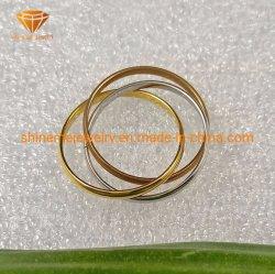 Les bijoux de corps de la mode Bijoux en acier Staineless Three-Rings combinaison Bague en acier inoxydable SSR2046