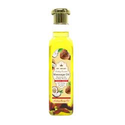 Prensado en frío de coco Orgánico Aceite Esencial de masaje