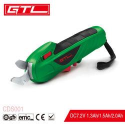 Сад инструменты DC7.2V литиевые беспроводные Secateurs Pruning ножницы/травы ножницы (CD001)