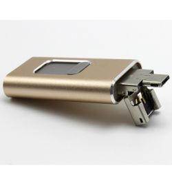 2019 chaud 32 Go 3 en 1 64 Go de 128 Go de disque Flash USB OTG Pen Drive pour iPhone/iPad/téléphone Android
