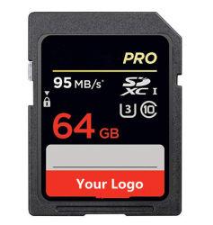 L'extrême Pr 64 GO 95Mo/s UHS-I/U3 carte Flash SD SDXC C10, V30, 4K UHD, carte mémoire