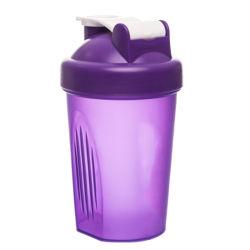 Populares 400ml de PP de plástico sem BPA Agitar Garrafa com a esfera do sacudidor