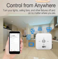 Drahtloser Feuer-Rauchmelder-Fühler-Hauptwarnungssystem des Alarmanlage-Systems-WiFi