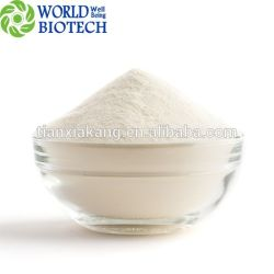 装飾的なか薬剤の等級で使用される高性能液体クロマトグラフィーの/High純度の白い粉が付いているChlorogenic酸98% 99% /Eucommiaの葉のエキス