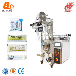 자동적인 꿀 또는 우유 또는 물 또는 기름 또는 식초 향낭 액체 패킹 포장 기계