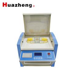 Sola Taza 80kv de aceite de transformador automático de comprobador de tensión de ruptura dieléctrica