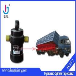 China dupla alimentação/Simples agindo tubo telescópico do Cilindro Hidráulico com vários estágios com marca Jiaheng
