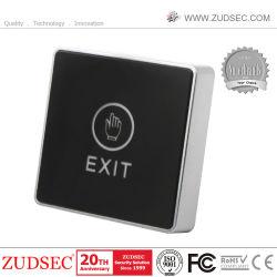 Deux LED de couleur la lumière infrarouge Touchez le bouton Exit NO/NC/cm Interrupteur à bouton poussoir pour le contrôle des accès