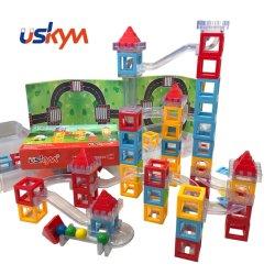 Qualidade Assegurada Edifício magnético de blocos para crianças