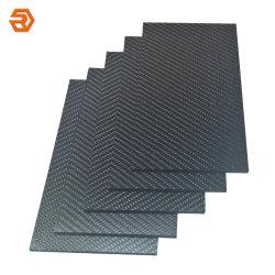 Обычная/Саржа глянцевый/матовый корпус из углеродного волокна ламинированные лист/Пластины