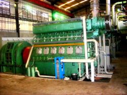 600rpm Hfo schwerer Kraftstoff-Generator für Energie 3MW (3X1MW) im afrikanischen Projekt